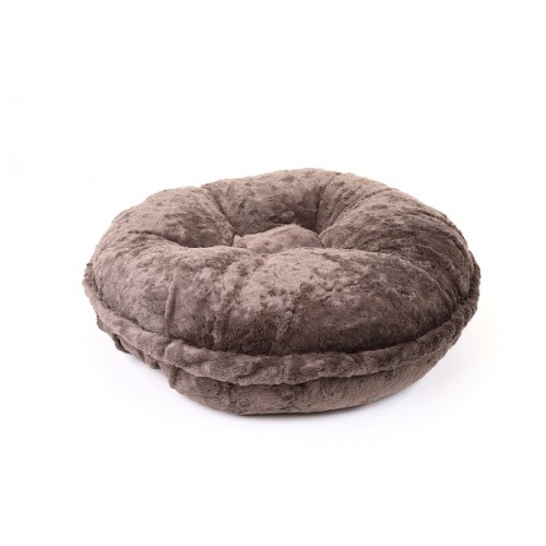 Grey Mink Round Bed