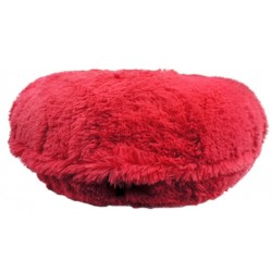Hot Pink Shag Round Bed