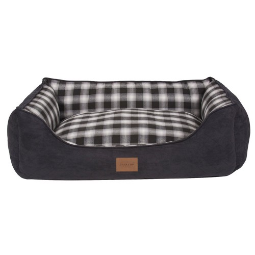 Charcoal Ombre Plaid Kuddler