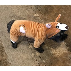 LaurDIY PET ONESIE - MOOSIE THE DOG