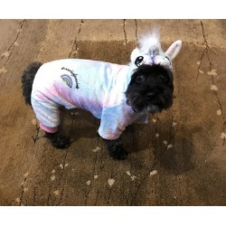 LaurDIY PET ONESIE - UNICORN