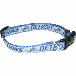 NFL Detroit Lions Dog Collar - RIBBON
