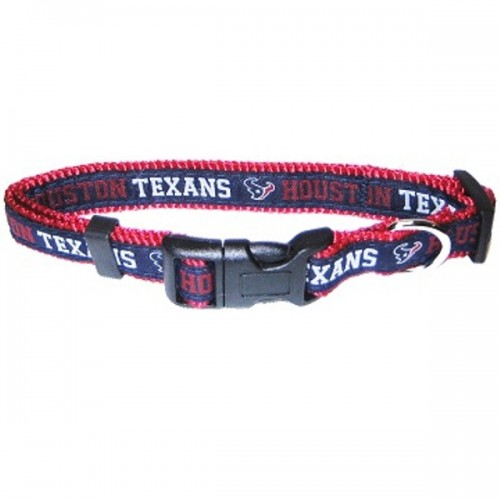 NFL Houston Texans Dog Collar