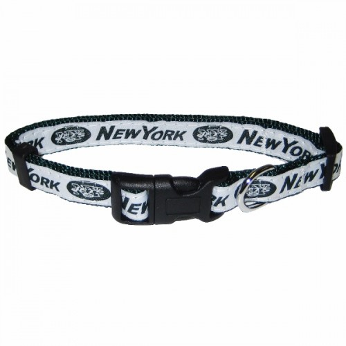 NFL New York Jets Dog Collar - Ribbon