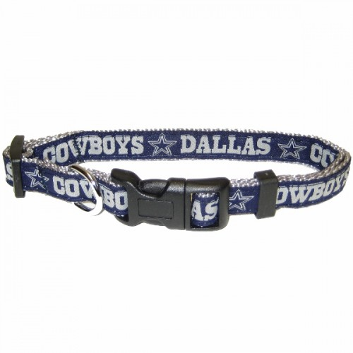 NFL Dallas Cowboys Dog Collar - Ribbon