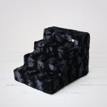 Luxury Pet Stairs - Black Diamond