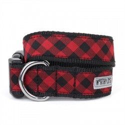 Bias Buffalo Plaid Collar & Lead Collection