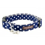 Polka Dot Nylon Fabric Collar, Leash and Harness Collection