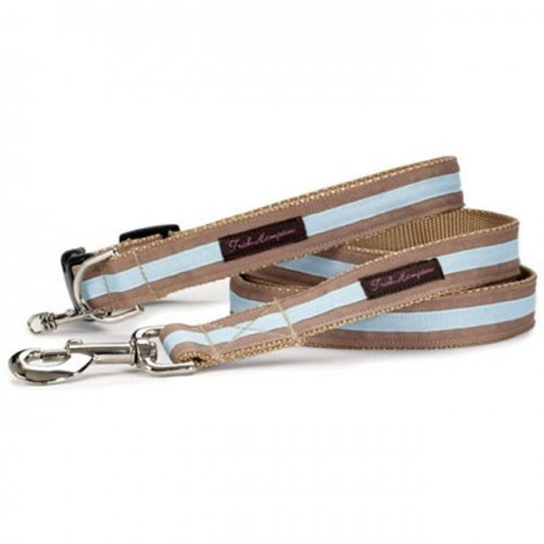 Tan/Light Blue Stripe Collar Collection