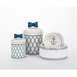 Nautical Bowls and Treat Jars Collection