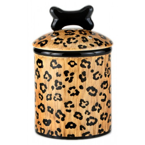 Leopard Ceramic Treat Jars