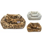 Animal Print Luxe Dog Beds