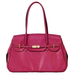 Katie Bag All Leather Pet Carrier