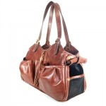 Metro Couture Dog Tote With Tassel