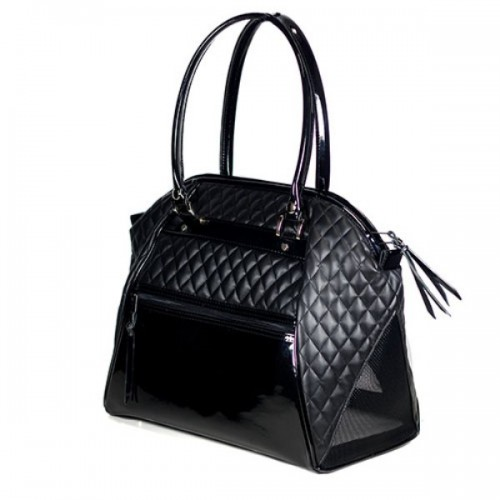 Haylee - Black Quilted Luxe