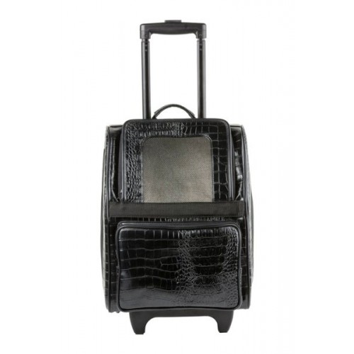 Rio Bag On Wheels - Black Croco